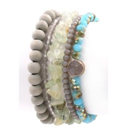 Art Box MINERAL Stretch Bracelet Set