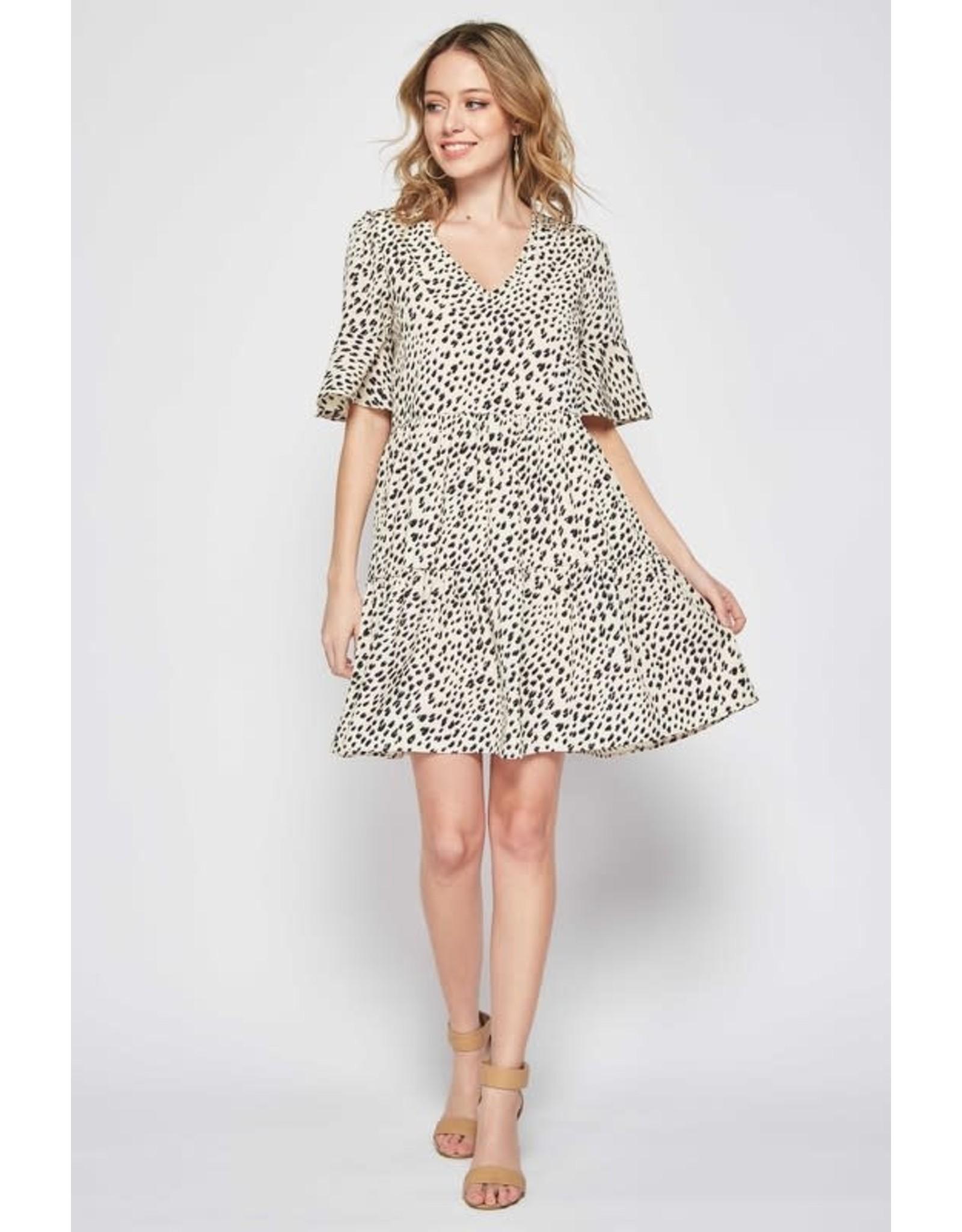 Beeson River ZOEY Leopard Spot Dress