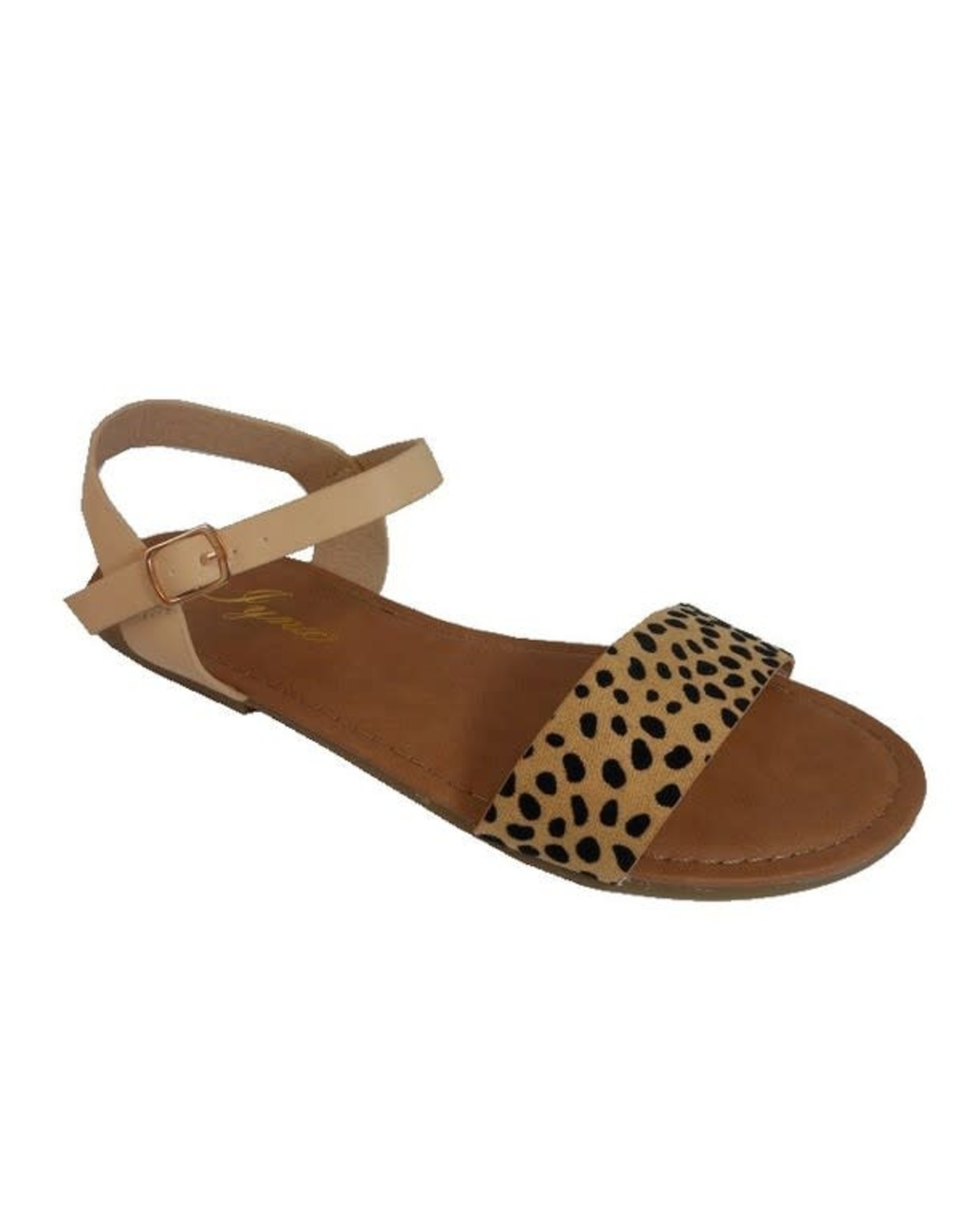 Red Shoe Lover ANNA Leopard Sandals