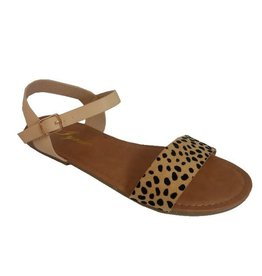 Red Shoe Lover ANNA Leopard Sandals