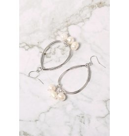 Sliver Tear Drop Earring