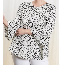 The Ritzy Gypsy SPOT Private Label Ivory Blouse