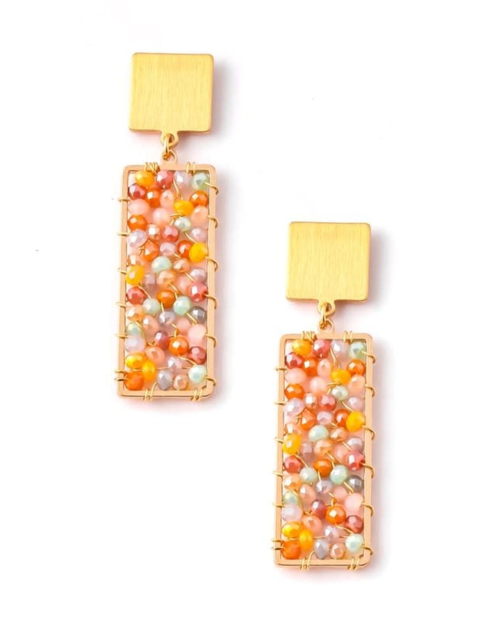Anarchy Street Color Pop Beaded Earrings