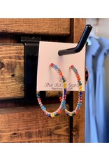 KNC Wholesale Elena Beaded Hoops