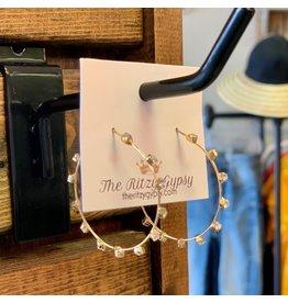 KNC Wholesale KALYA Rhinestone Earrings