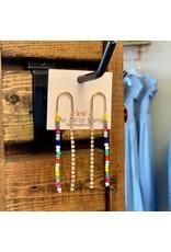 KNC Wholesale RAINBOW Tassel Earrings
