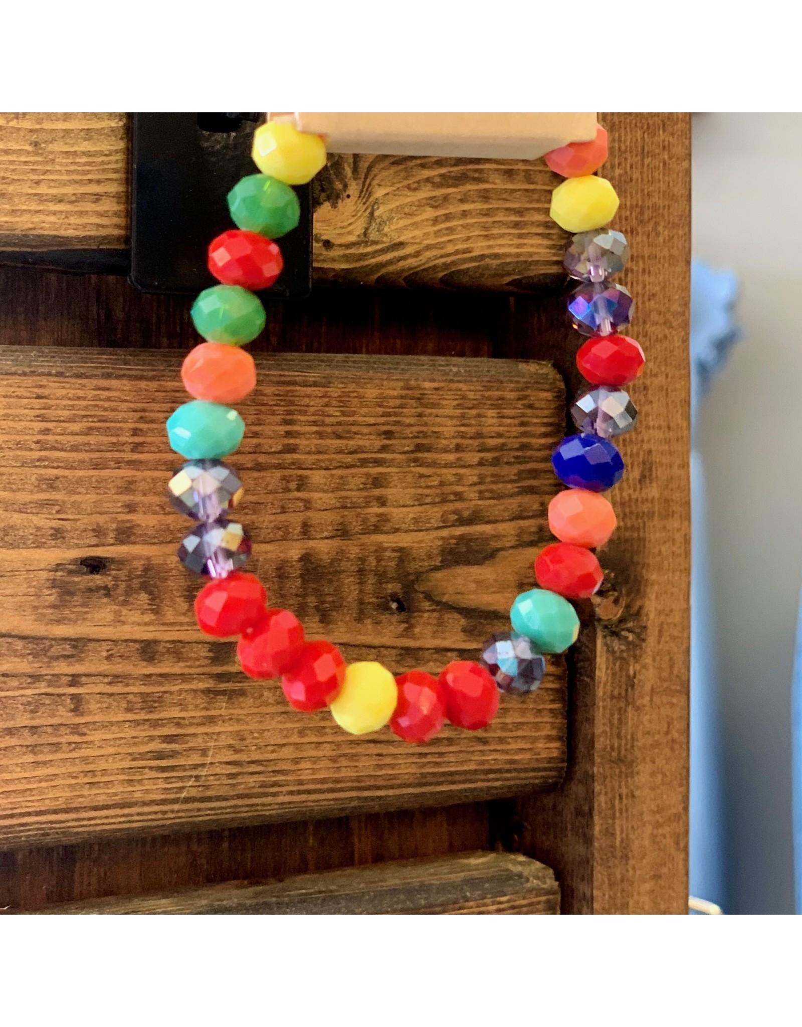 KNC Wholesale DOT Single Rainbow Bracelet