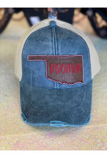 The Ritzy Gypsy OKIE Leather Boomer Hat