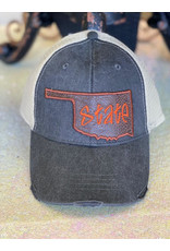 The Ritzy Gypsy OKIE Leather State Hat