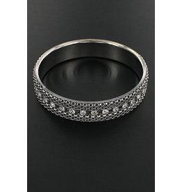 Funteze Accessories SHINE Silver Bangle
