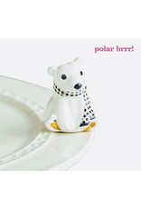 Nora Fleming POLAR BRR! Mini (Polar Bear)