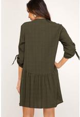 She+Sky SHANA MICHELLE Soft Plaid Dress