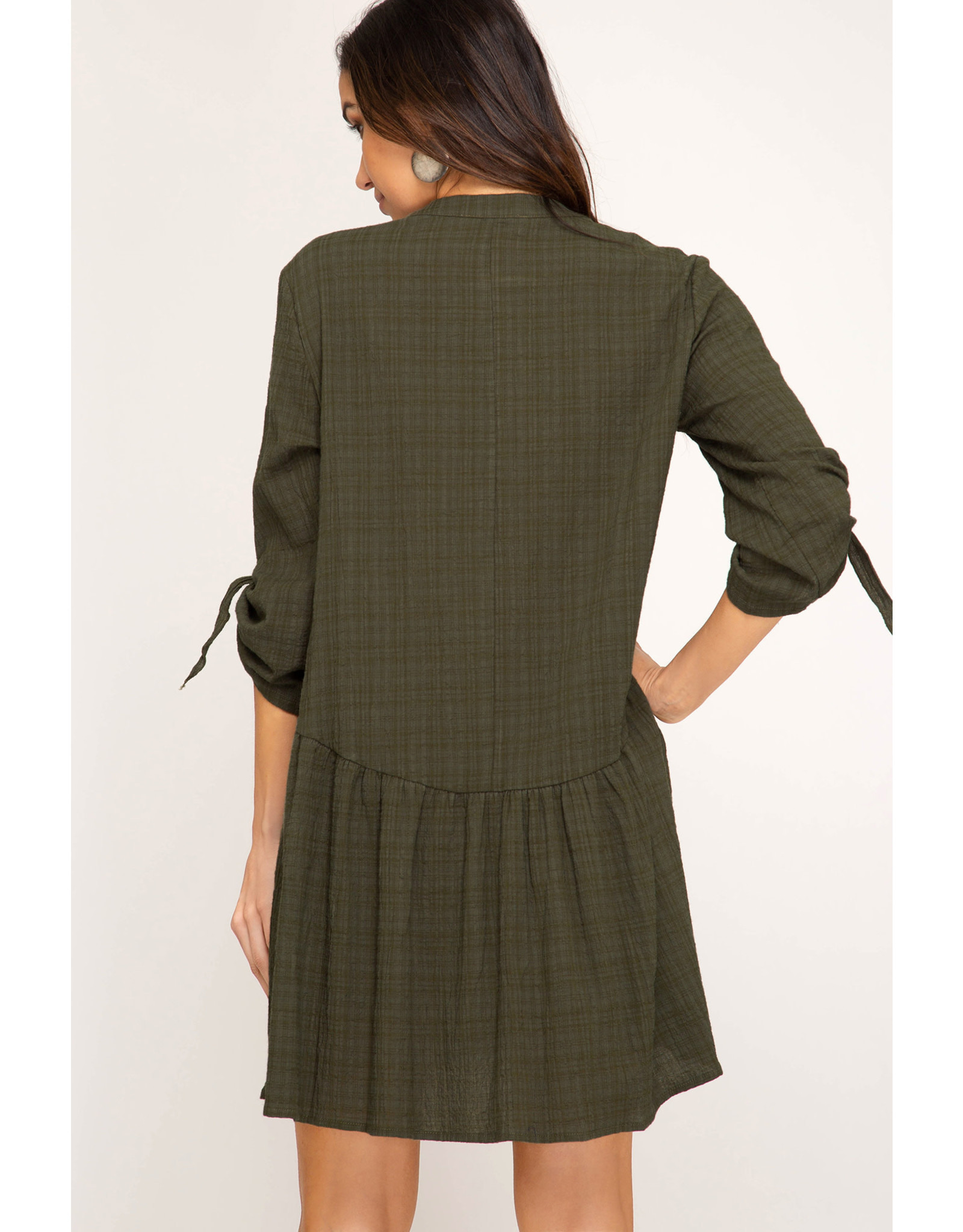 She+Sky SHANA MICHELLE Soft Plaid Dress