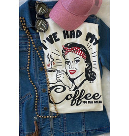 L&B Life COFFEE Graphic tee
