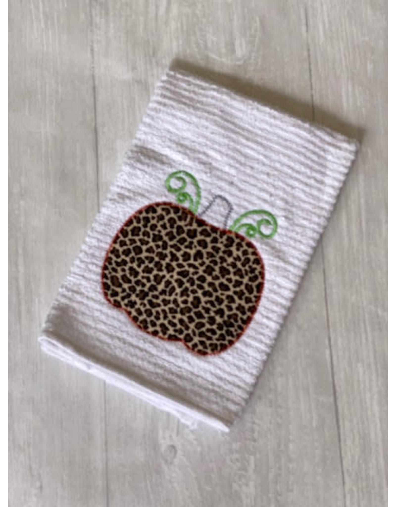 LEOPARD PUMPKIN Towel