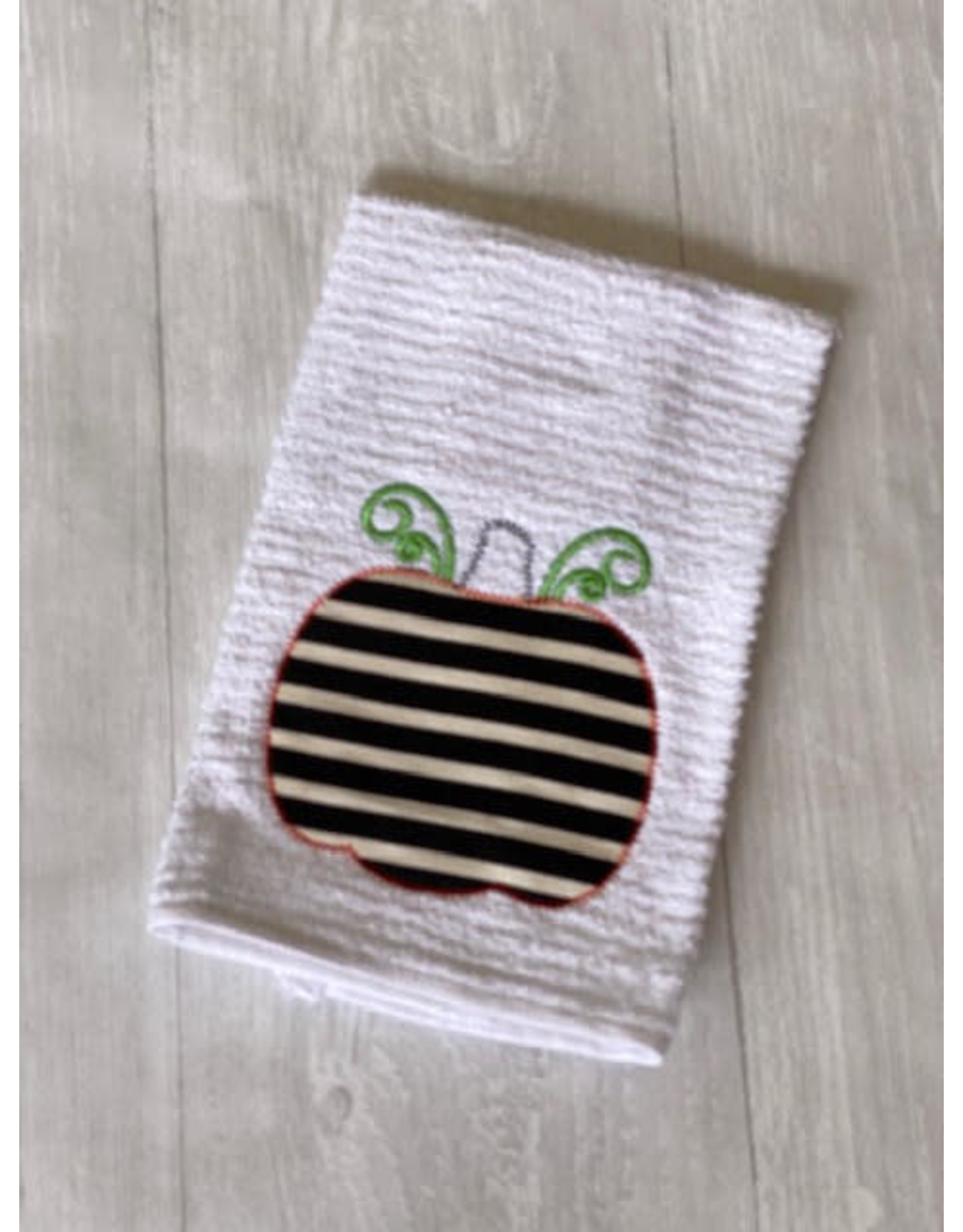 STRIPED PUMPKIN Kitchen Towel