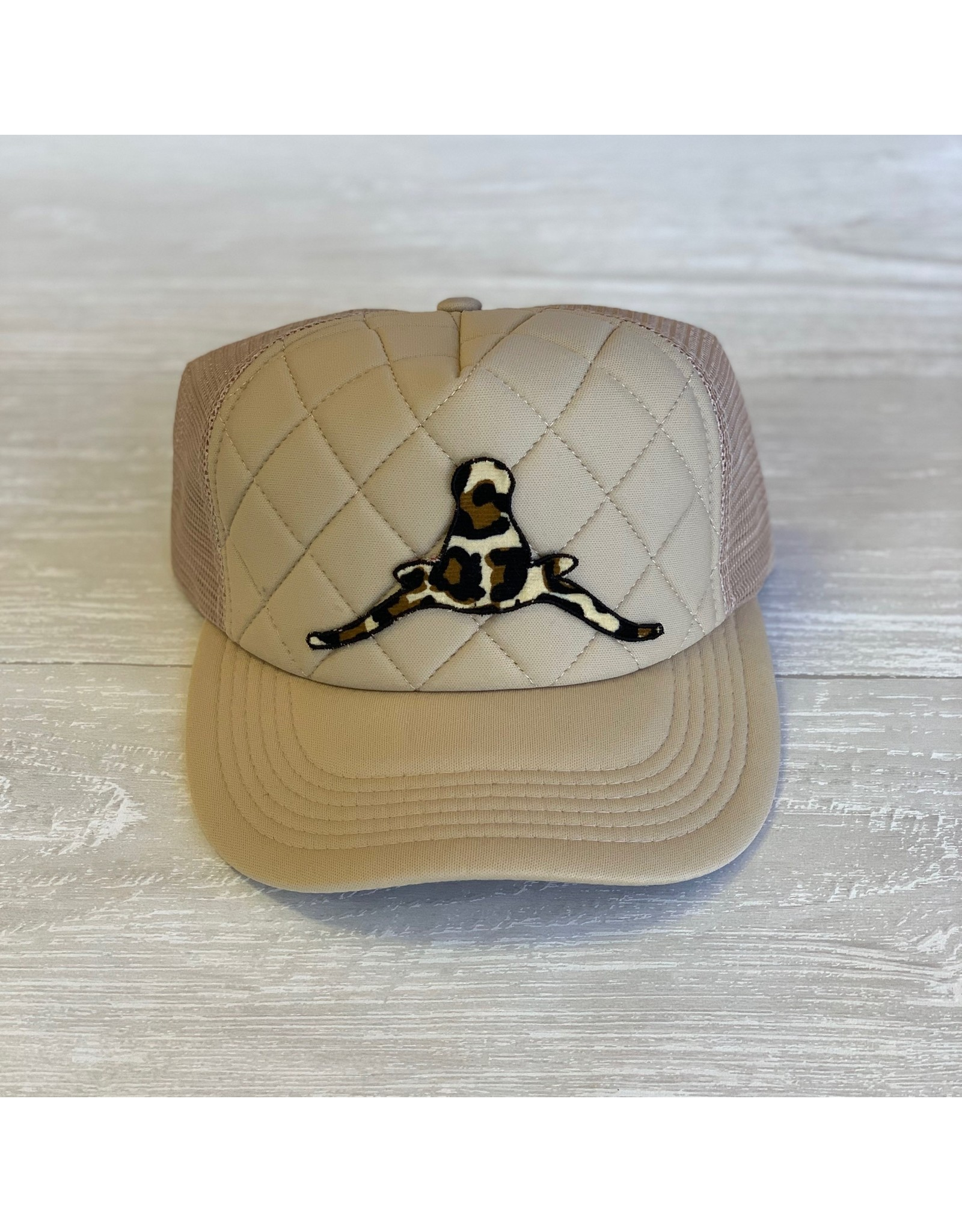 The Ritzy Gypsy Quilted Horns Down Hat