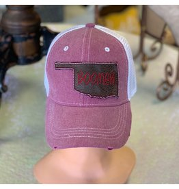 The Ritzy Gypsy Red Boomer OK Trucker Hat