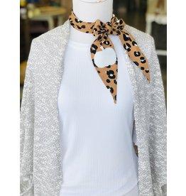 KNC Wholesale PUMPKIN Leopard Scarf