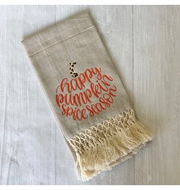 The Ritzy Gypsy Pumpkin Spice Season Towel