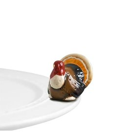 Nora Fleming GOBBLE GOBBLE! Mini (Turkey)
