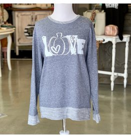 The Ritzy Gypsy PUMPKIN LOVE Sweatshirt