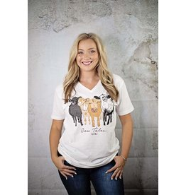 August Bleu COW TALES Graphic Tee