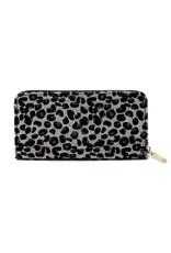 Grey Leopard Wallet