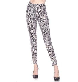fashiongo SNAKE SKIN Leggings