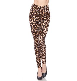 fashiongo JUNGLE LADY Leopard Leggings
