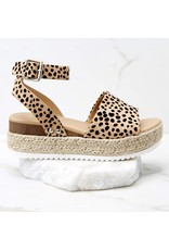 CCOCCI KHARI Cheetah Platform Sandal