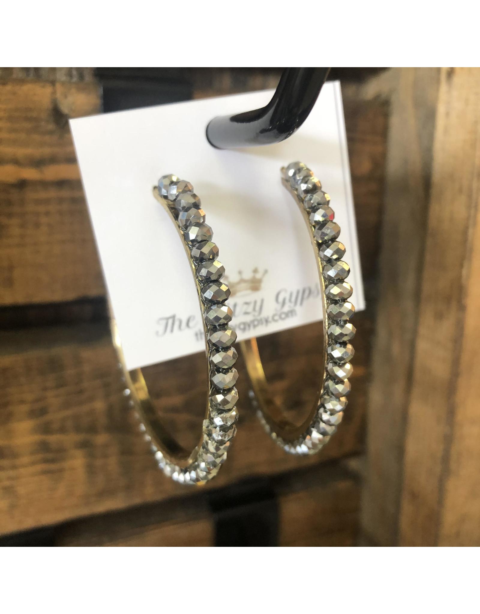 J&S Fashion DAZZLE Grey Hoop