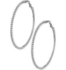 Funteze Accessories ENJOY THE MOMENT Hoop Earrings