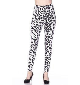 2NE1 Apparrel WHITE LEOPARD Leggings