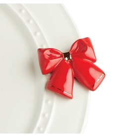 Nora Fleming WRAP IT UP Mini (Red Bow)