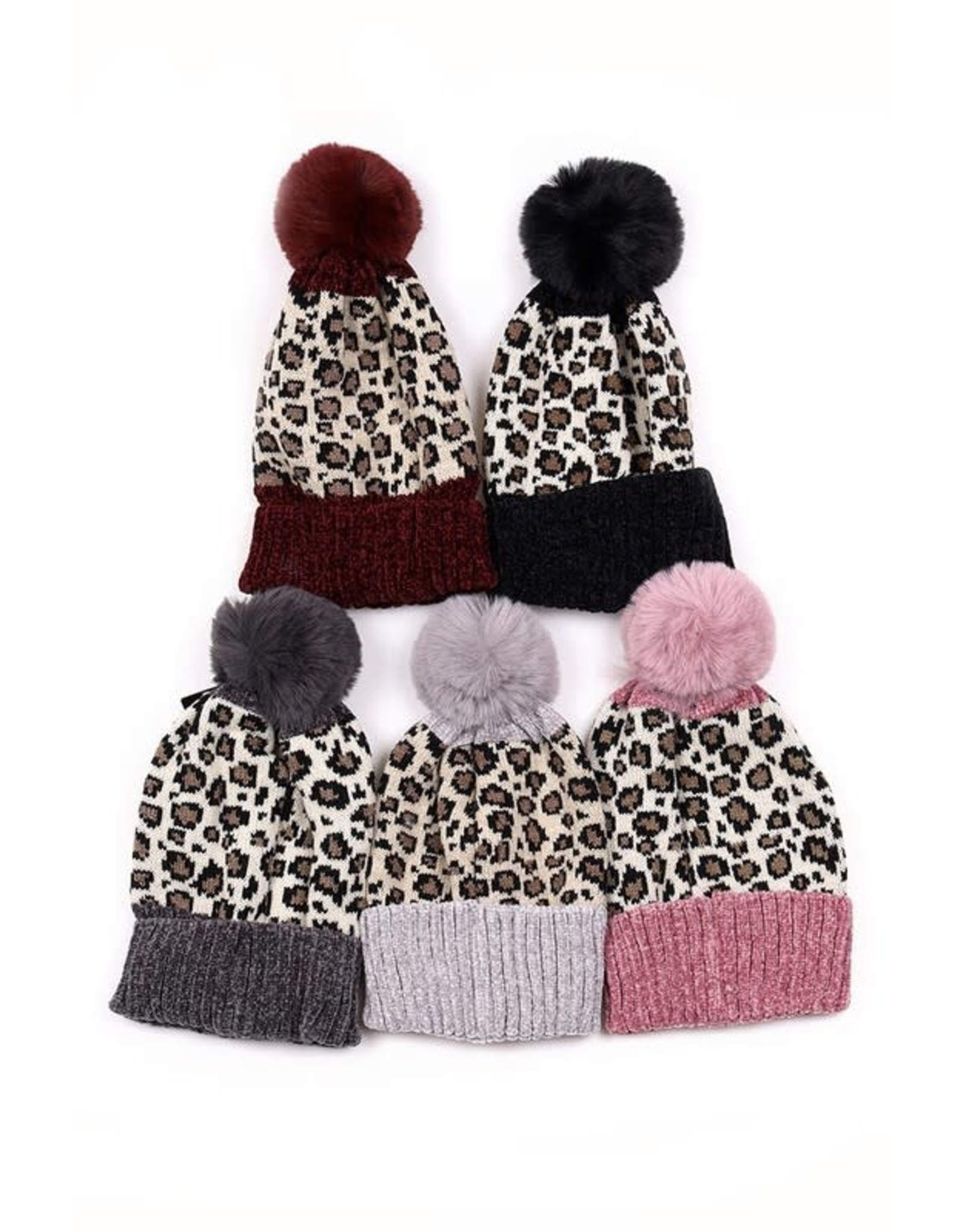 The Ritzy Gypsy CUDDLY Leopard Beanie