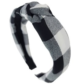 Funteze Accessories CHECKERED Headband
