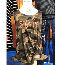 The Ritzy Gypsy O State Camo Tank