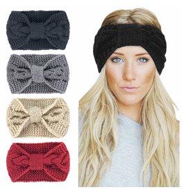 Funteze Accessories KNOTTED Knit Headband