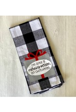 The Ritzy Gypsy Christmas Morning Towel