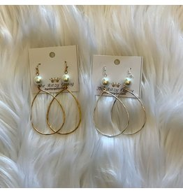 KNC Wholesale PEARL DROP Earrings