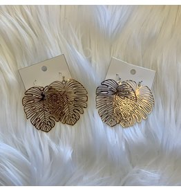 KNC Wholesale PALM LEAF Earrings