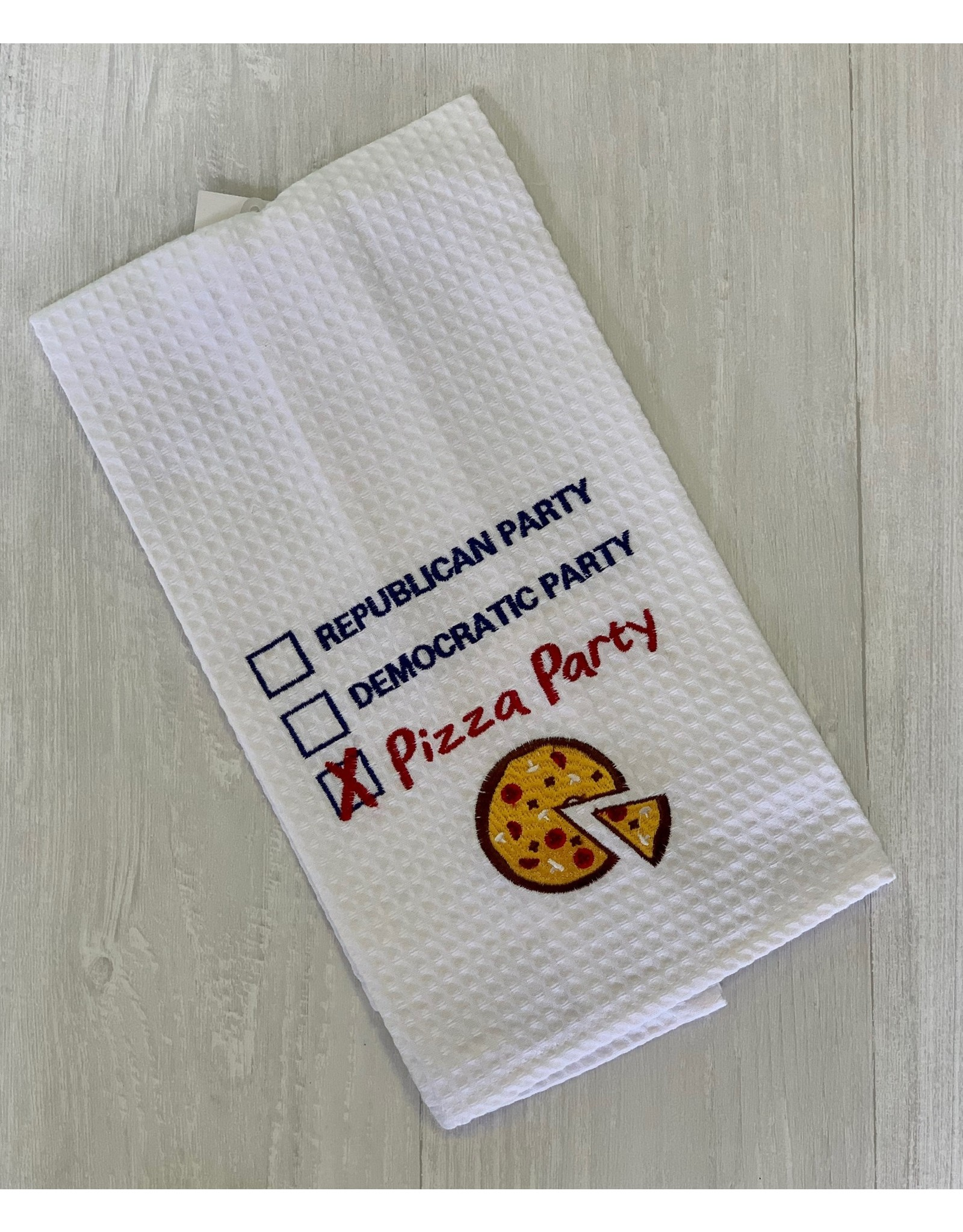 The Ritzy Gypsy Pizza Party Towel