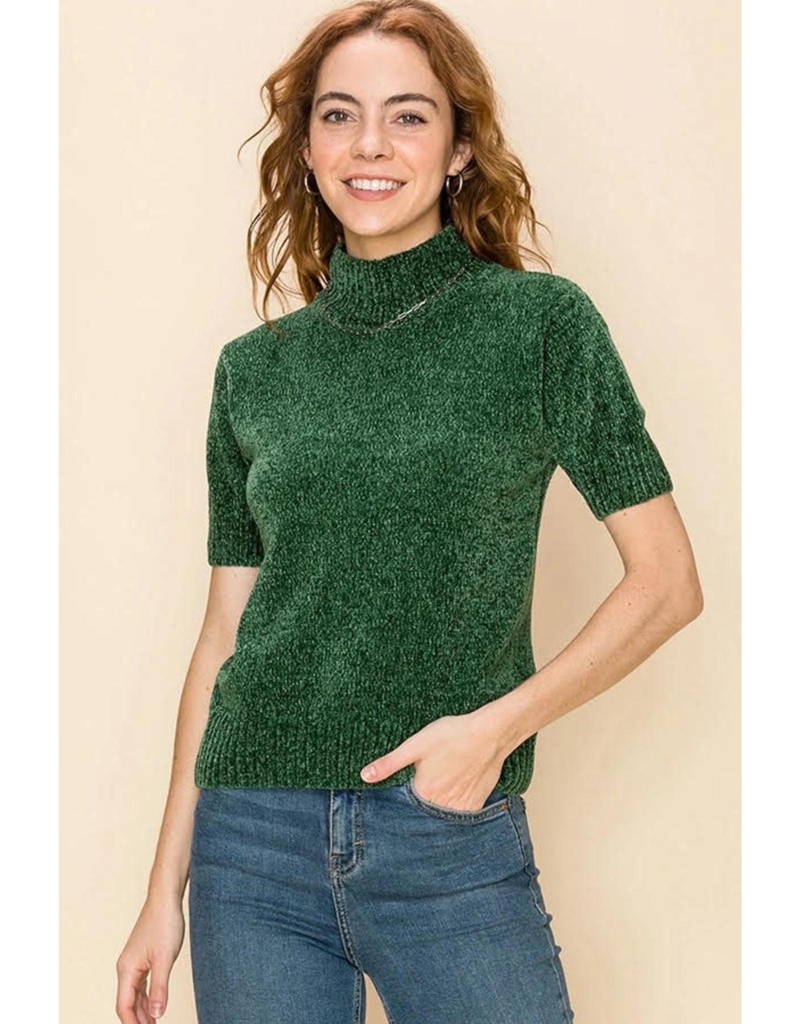 HYFVE JOLLY Short Sleeve Sweater