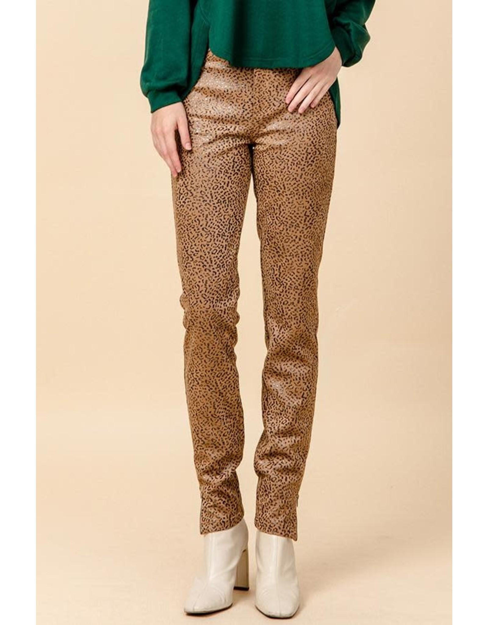 HYFVE LEO Leopard Print Pants