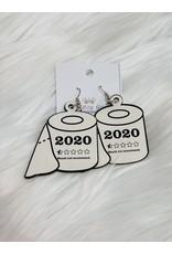 The Ritzy Gypsy 2020 Toilet Paper Earrings