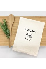 Things UnCommon RESCUE Dog Tea Towel