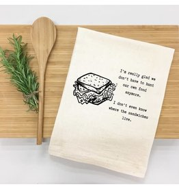 Things UnCommon SANDWICHES Tea Towel