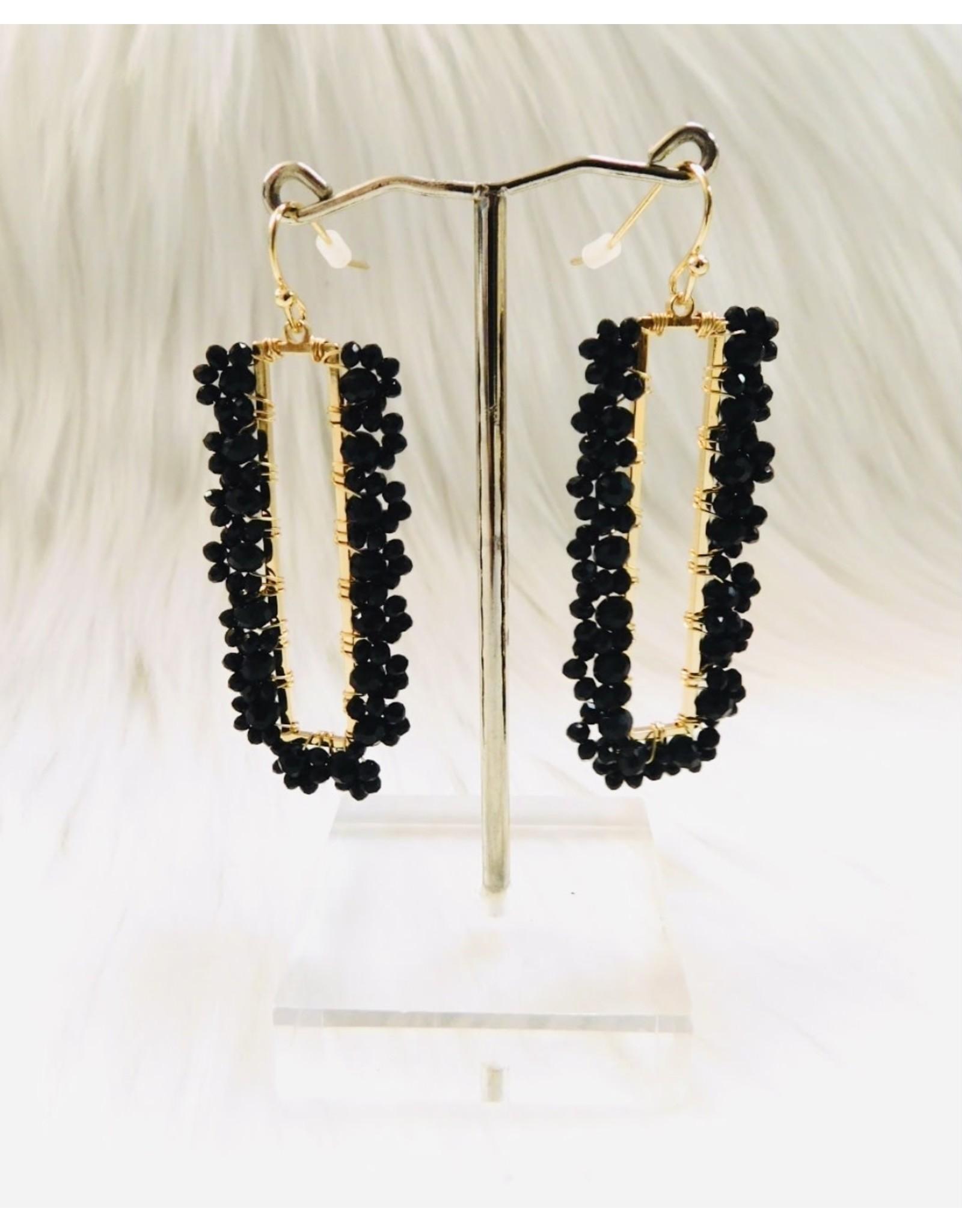 KNC MAVIE Crystal Drop Earring