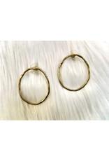 KNC CAT Circle Stud Earring